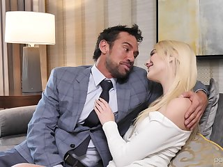 Business and pleasure with fucking awesome yellowish cosset Kenna James